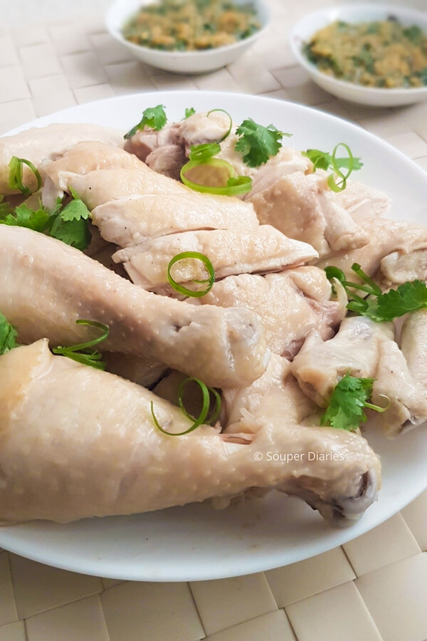 White cut chicken