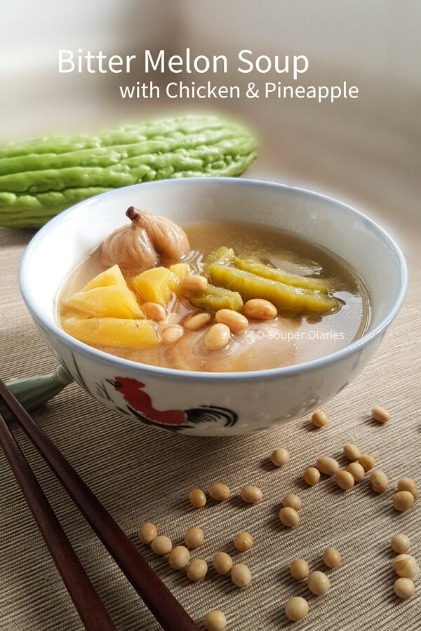 Chinese bitter melon soup