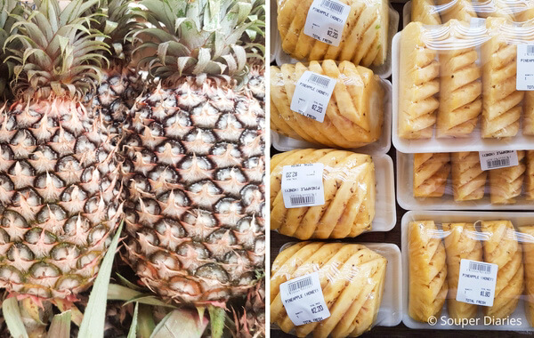Thai honey pineapple