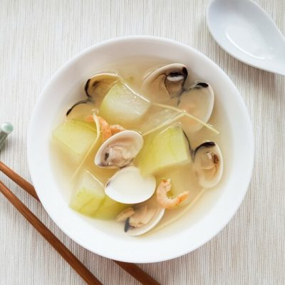 Winter Melon Clam Soup