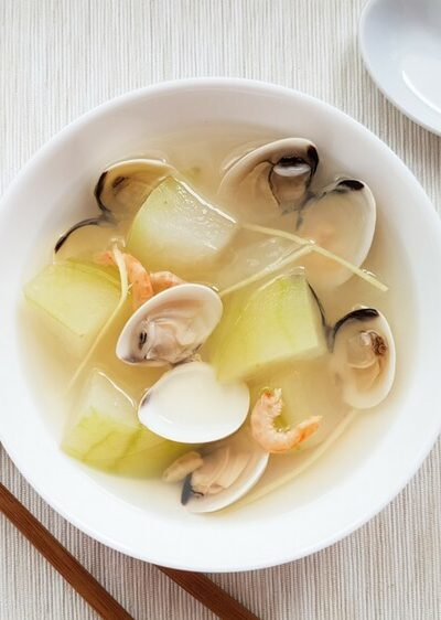 Winter Melon Clam Soup