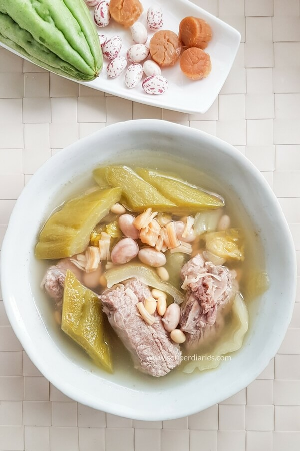 chinese bitter melon soup - photo #9