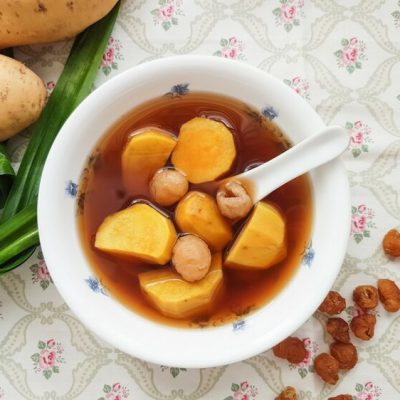 Sweet Potato Ginger Soup