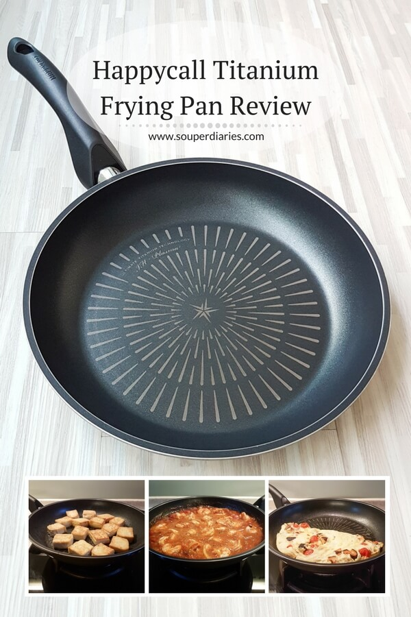Happycall titanium frying pan review