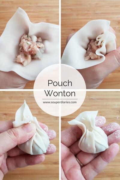 Pouch wonton