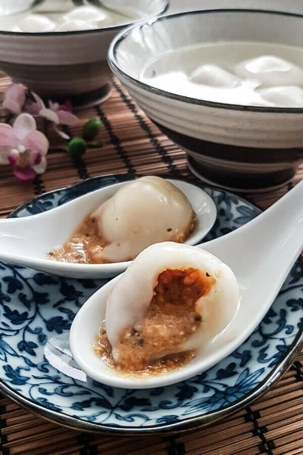 Peanut tang yuan recipe (peanut dumplings)