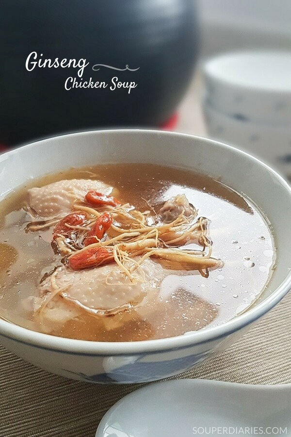 Ginseng chicken soup recipe