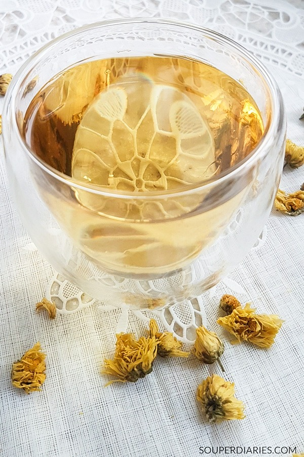 Chrysanthemum tea benefits and how to make it