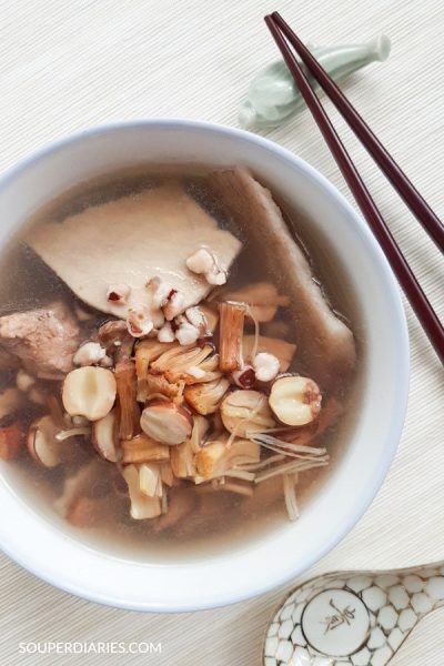 Chinese Four Herbs Soup (四神汤)